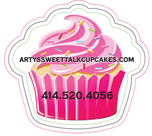 Arty's sweet talk cupcakes