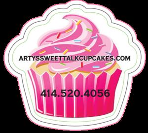 Arty's sweet talk cupcakes